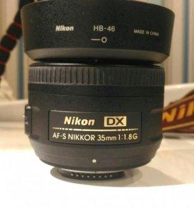 Af-S Nikkor 35mm 1:1.8 G