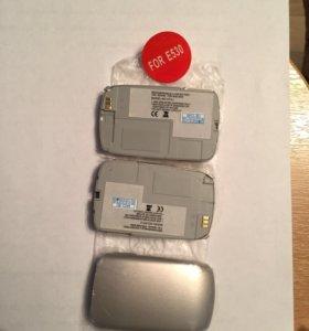 Samsung E530, 3 аккумулятора