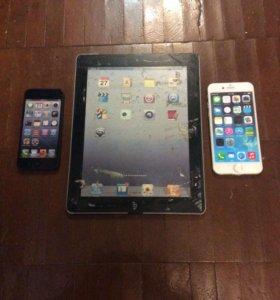 муляжи для витрины iphone 5,6 и ipad 2