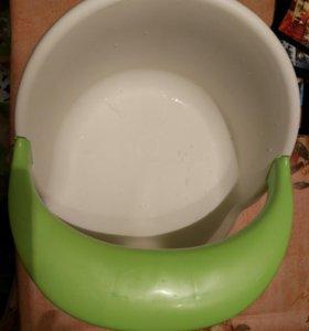 Сиденье для ванны happy baby со съёмным бампером