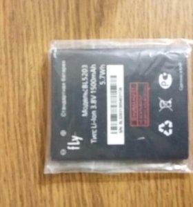 Батарея на телефон fly iq442 quad bl 5203
