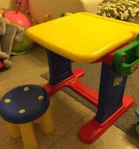 Стол мольберт+стульчик