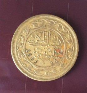 Монета Туниса