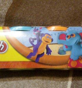 Пластилин play-doh новый