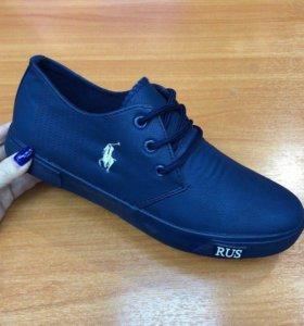 Новые ботинки Polo.