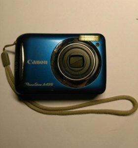 На запчасти Canon Power Shot A495