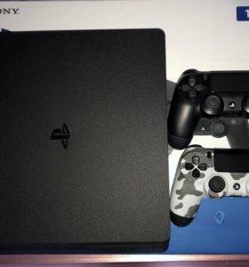 Sony PlayStation 4 Slim Jet Black 1 Tb