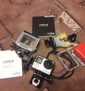go pro 4 silver экшн камера