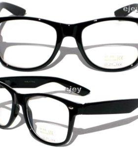Продам очки с обычным стеклом