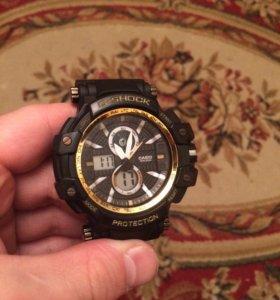 Часы G-Shock новые золотой цвет