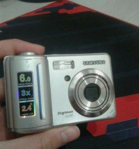 Продаю фотоаппарат Samsung Digimax S600