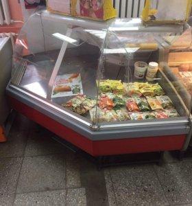 Холодильник угловой,возможен торг