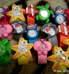 Детские 3D часы Акция!!!