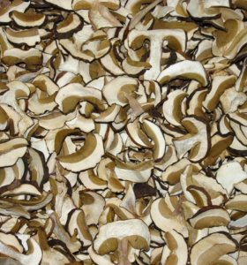Сушеные белые грибы