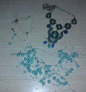 Ожерелья бижутерия