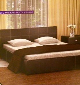 Кровать обшитая 👌🏻