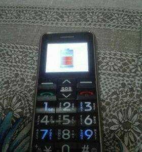 Телефон двухсимочный полностью работоспособный