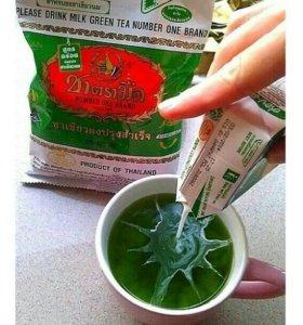 Тайский изумрудный чай