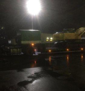 Перевозка и сопровождение тяжеловесных грузов