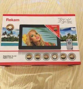 Цифровая фоторамка REKAM Deja View SL101