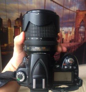 Nikon D90+Kit 18-105