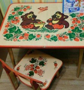 Дет.столик и стульчик