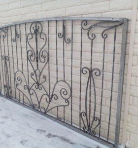 кованые заборы, калитки , ворота