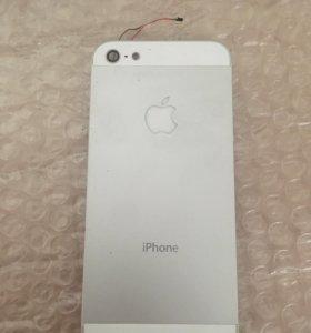 Корпус на iPhone 5 со светояблоком