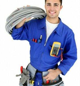 Услуги электрика сантехника,качественно,недорого