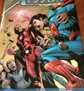 """Комикс-книга """"Superman Action Comics"""" том 2"""