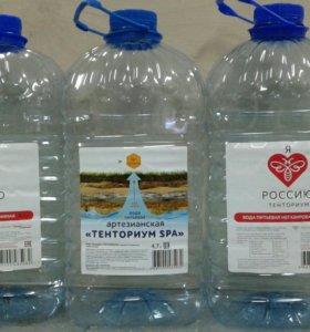 Бутылки  из под чистой питьевой воды , 4,7 литра.