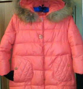 Куртка зимняя,детская 6-11лет