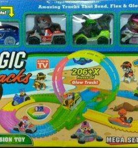 Magic Track Собачий Патруль 206 деталей