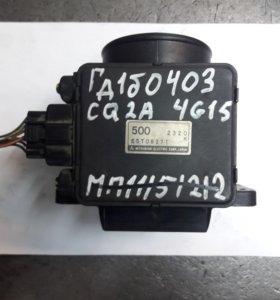 Датчик расхода воздуха Mitsubishi E5T08371