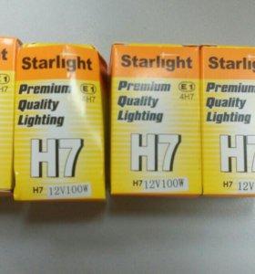 Лампы галогенные  автомобильные H7 100W