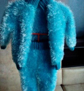 Детский костюм вязаный