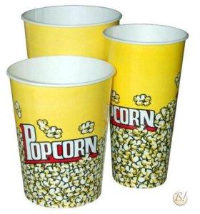 Бумажный стакан для попкорна 2л.