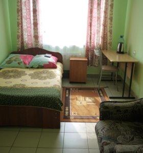 Одноместный номер с широкой кроватью