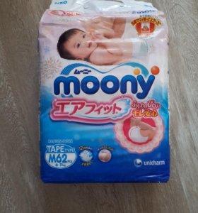 Подгузники Moony M