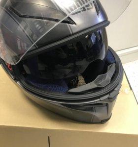 AGV Шлем K-5 multi enlace black matt-grey разм. MS