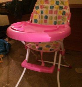Раскладной детский столик для кормления