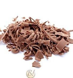 Шоколадная глазурь стружка