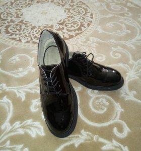 Туфли мужские военные офисные