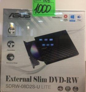 Привод внешний DVD-RW ASUS SDRW-08D2S-U Lite