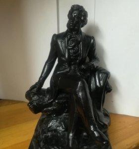 Пушкин в Балдино каслинское литье