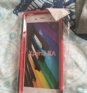 Бампер на Sony Xperia XA