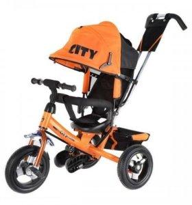 Велосипед с надувными колесами сити