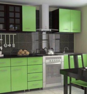 Кухонный гарнитур новый модульный «Лайм»