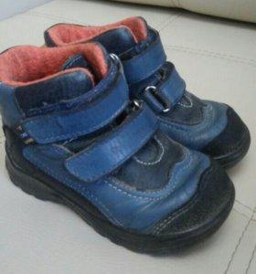 Ботинки кожаные р.23