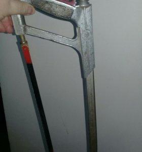 Профессиональная ножовка по металлу